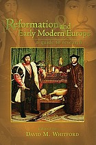 Reformation and early modern Europe : a guide to research