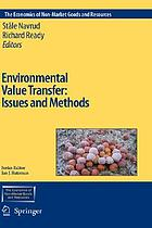 Environmental value transfer : issues and methods