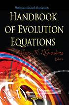 Handbook of evolution equations