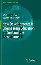 New developments in engineering education for sustainable development
