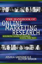 Handbook of online marketing research
