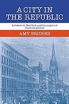 A city in the republic : antebellum New York and the origins of machine politics