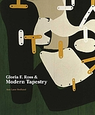 Gloria F. Ross & modern tapestry