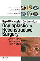 Ocuplastic and reconstructive surgery