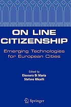 On line citizenship : emerging technologies for European cities