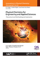 Physical Chemistry for Engineering and Applied Sciences : Theoretical and Methodological Implications