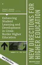 Enhancing student learning and development in cross-border higher education