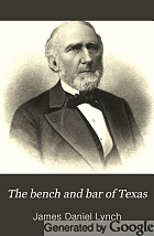 The bench and bar of Texas.