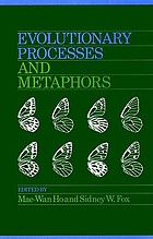 Evolutionary processes and metaphors