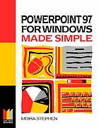 Powerpoint 97 for Windows made simple