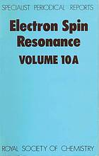 Electron spin resonance A