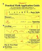Chenier's practical math application guide