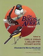 The birds of Africa. 5.