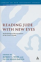 Reading Jude with new eyes : methodological reassessments of the letter of Jude