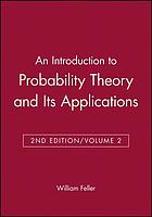 An introduction to probability theory and its applications/ 2.