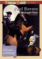 Paul Revere. Midnight ride