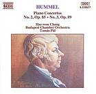 Piano concerto in A minor op. 85 Piano concerto in B minor op. 89