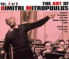 The art of Dimitri Mitropoulos. Vol. 2