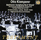 Symphony no. 9 in D minor, op. 125 (Choral) ; Egmont, op. 84 : incidental music
