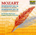 "Symphony no. 36 in C major ""Linz"" ; Symphony no. 38 in D major : ""Prague"