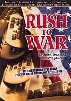 Rush to war between Iraq and a hard place