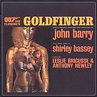 Goldfinger original motion picture soundtrack