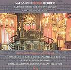 Salamone Rossi Hebreo Baroque music for the synagogue and the royal court