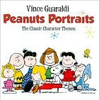 Peanuts portraits the classic character themes