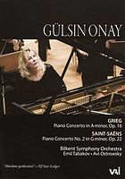 Gülsin Onay in concert piano concertos by Grieg and Saint-SaënsGülsin Onay in concert