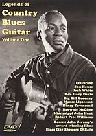 Legends of country blues guitar. Volume One