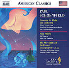 Concerto for viola and orchestra Four motets ; The merchant and the pauper : excerpts from act II