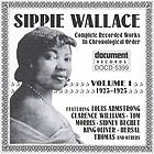 Sippie Wallace complete recorded works in chronological order