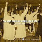 Classic African American gospel