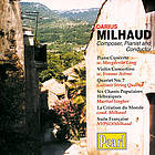 Darius Milhaud composer, pianist and conductor