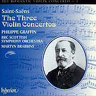 The three violin concertos