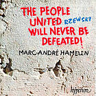 The people united will never be defeated! North American ballads. Down by the riverside ; Winnsboro cotton mill blues