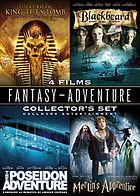Fantasy - adventure collector's set. The curse of King Tut's tomb. Merlin's apprentice. Poseidon adventure. Blackbeard