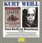 From Berlin to Broadway. II