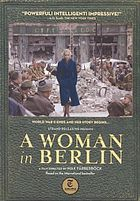 Anonyma eine frau in Berlin = A woman in Berlin