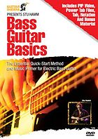 Bass guitar basics t the essential quick-start method and music primer for electric bass guitar