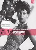 Sarah Vaughan the divine one