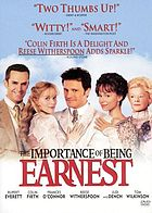 The importance of being EarnestThe importance of being EarnestThe importance of being Earnest Ernest ou l'importance d'être constant