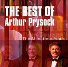 The best of Arthur Prysock the Milestone years