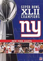 Super Bowl XLII Champions New York Giants