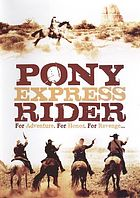 Pony Express rider
