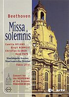 Missa solemnis concert for the reopening of the Frauenkirche in Dresden