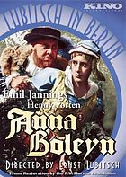 Anna Boleyn a historical drama in six acts