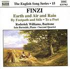 Earth and air and rain : ten songs for baritone and piano