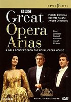 Great opera arias a gala concert from the Royal Opera House