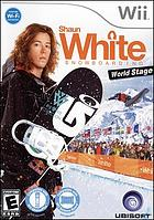 Shaun White snowboarding. World stage